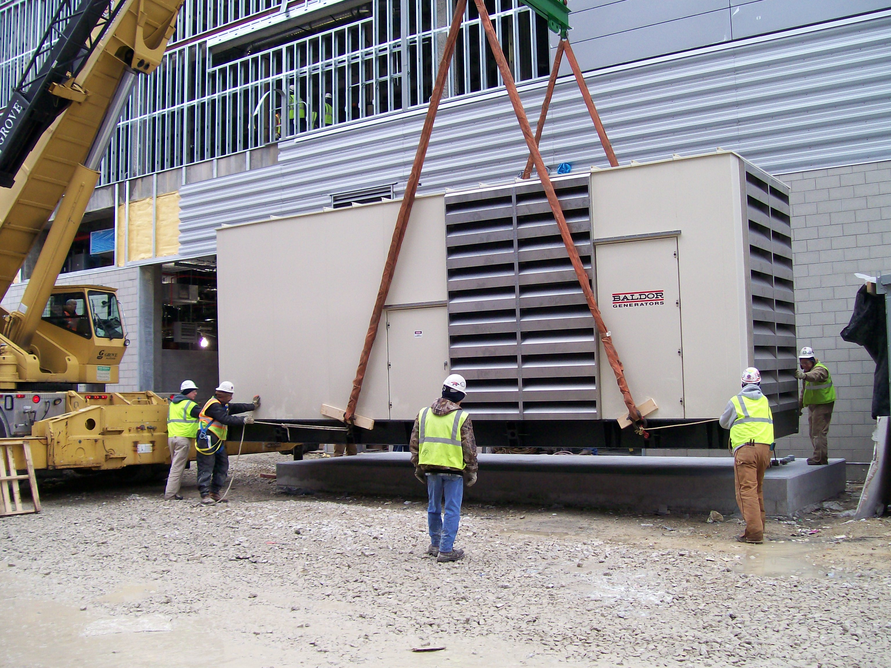 1250kw arena set Power Generators