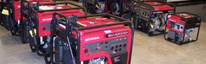 Honda power generators and products