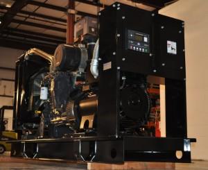 a large black engine