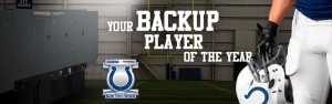 Colt's Backup Player of the Year