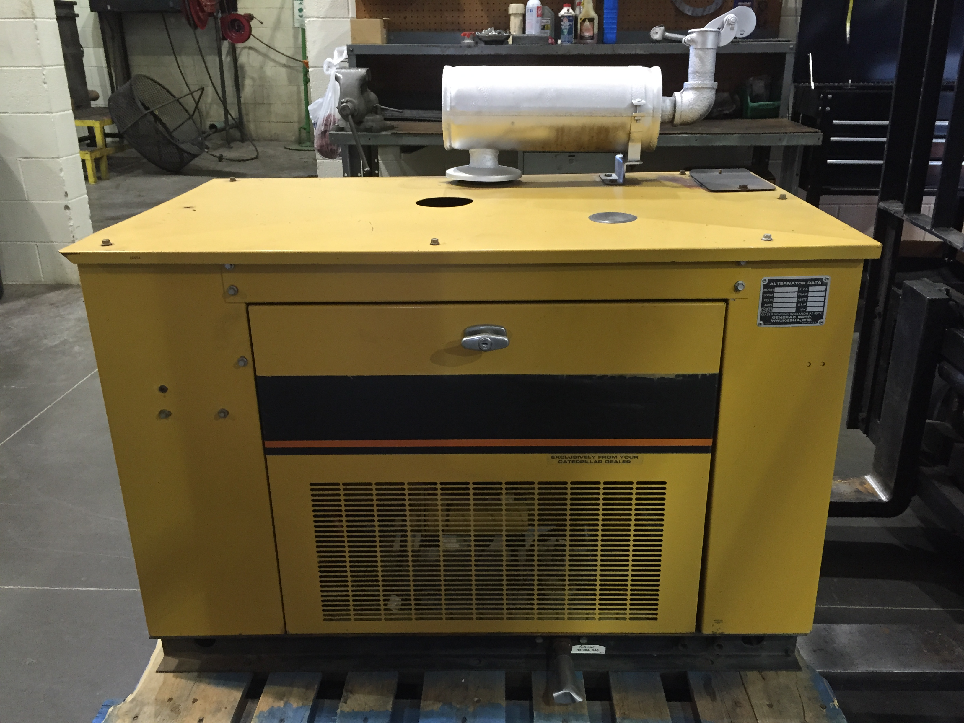 16kw Used Industrial Power Generator