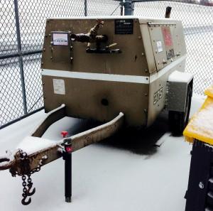 Used LeROI 375 Mobile Generator