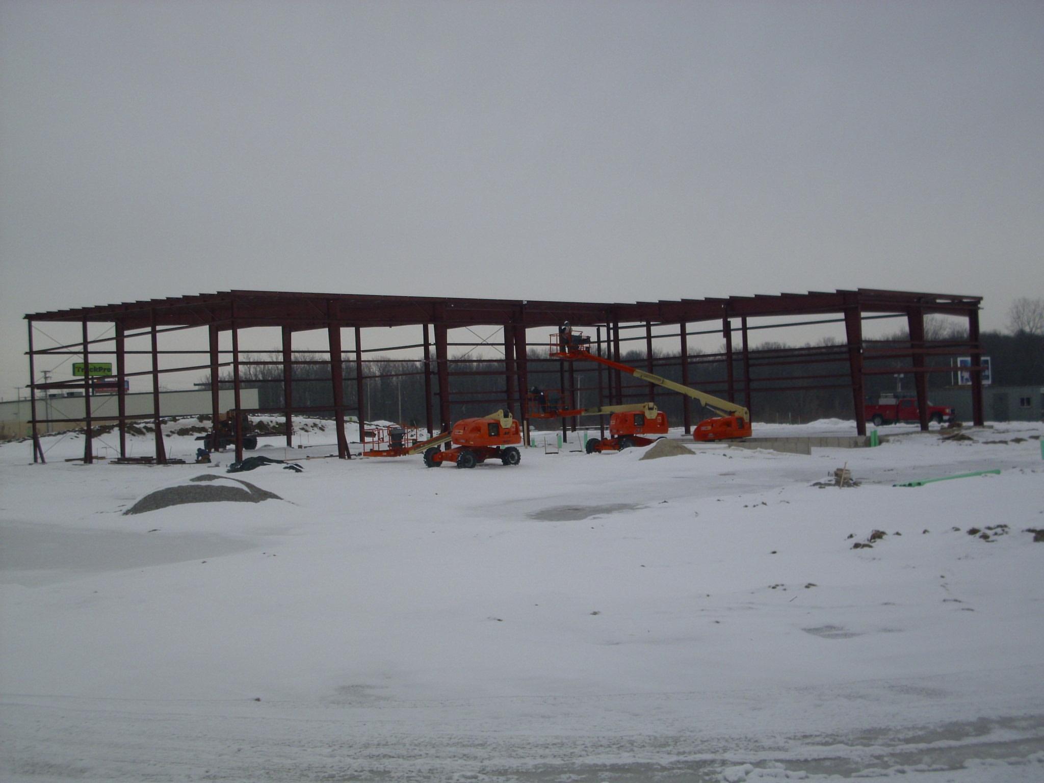 EVAPAR FT. Wayne construction