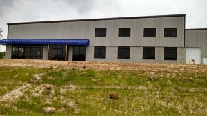 Exterior of the new facility