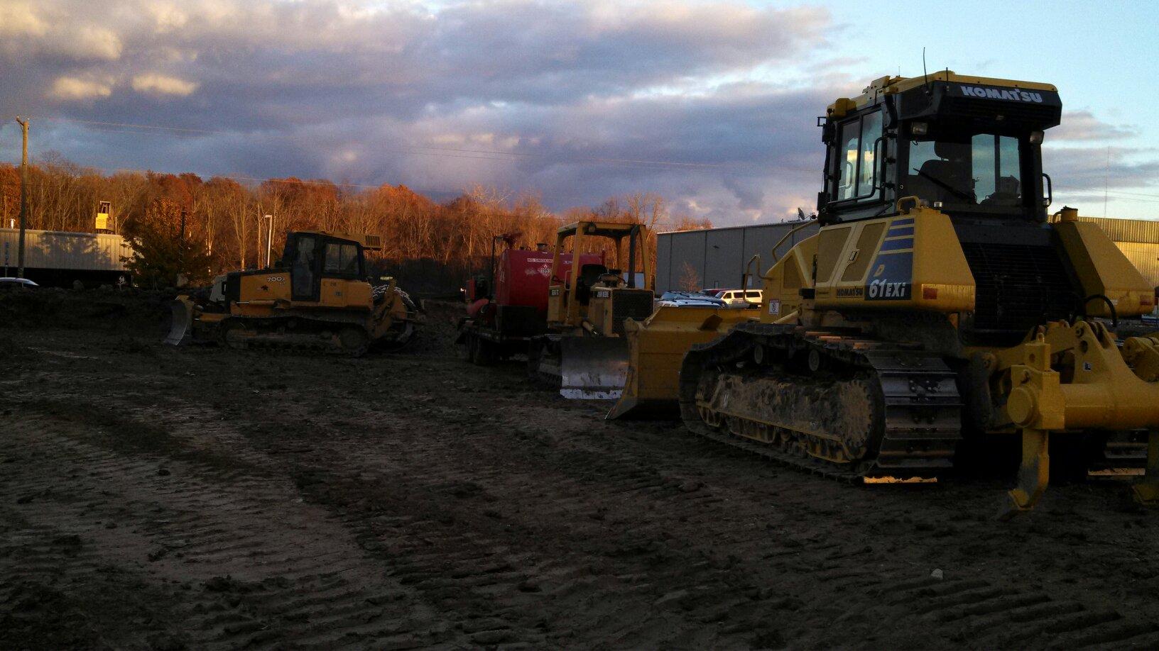 EVAPAR Fort Wayne location construction work