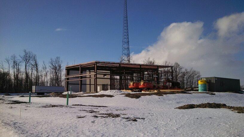 EVAPAR Construction well underway in FT Wayne