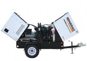 Mobile Diesel Generator by Generac