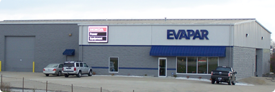 EVAPAR of Indianapolis (Indy), Indiana